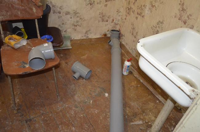 На Ленина,42 проводится ремонт жилья