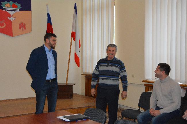 В администрации города Бахчисарая новое назначение