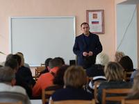 Олег Даперко провел очередную встречу с бахчисарайцами